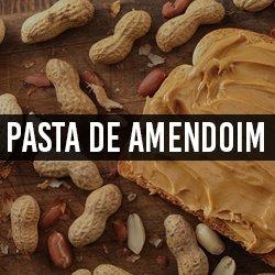 Pasta de amendoim e Amendoim Temperado