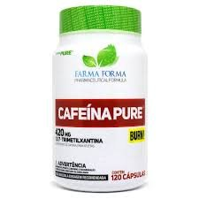 Cafeína Pure 420mg (60 Caps)