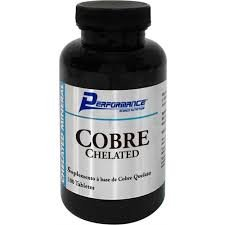 Cobre Chelated (100 Tabs)